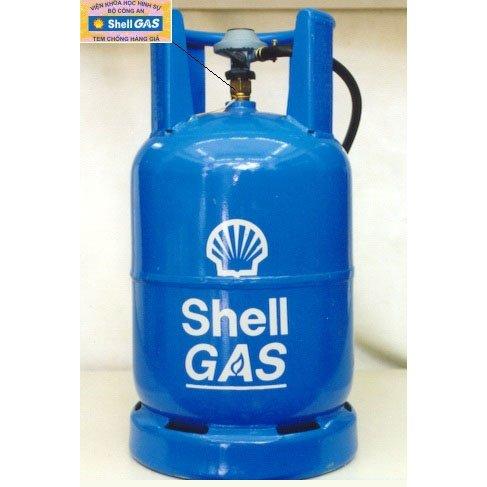 Bình gas Shell gas 12Kg