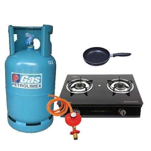Bộ bếp gas dương kính cao cấp